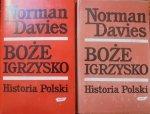 Norman Davies • Boże igrzysko. Historia Polski [komplet]