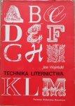 Jan Woleński • Technika liternictwa