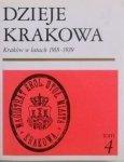 Janina Bieniarzówna • Dzieje Krakowa tom 4. Kraków w latach 1918-1939