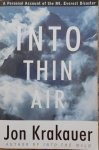 Jon Krakauer • Into Thin Air
