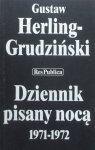 Gustaw Herling Grudziński • Dziennik pisany nocą 1971-1972