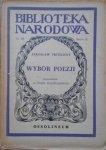 Jarosław Vrchlicky • Wybór poezji