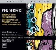 Radomska Orkiestra Kameralna • Penderecki: Serenada, Sinfonietta, Concerto per Viola • CD