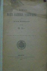 Marcin Sas • O miarach Macieja Kazimierza Sarbiewskiego i o ich wzorach