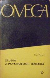 Jean Piaget • Studia z psychologii dziecka