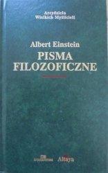 Albert Einstein • Pisma filozoficzne