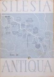 Silesia Antiqua tom 24 • [archeologia, cmentarzyska, osadnictwo wczesnośredniowieczne]
