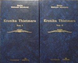 Marian Zygmunt Jedlicki • Kronika Thietmara [Skarby Biblioteki Narodowej]