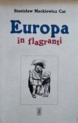 Stanisław Mackiewicz • Europa in flagranti