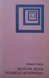 Roman Padoł • Filozofia religii polskiego modernizmu [Abramowski, Brzozowski]