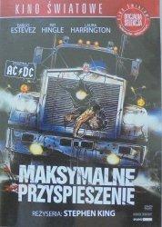 Stephen King • Maksymalne przyspieszenie • DVD