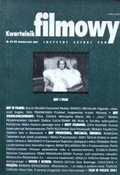 Kwartalnik filmowy 41-42 2003 • Mit i film