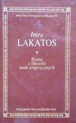 Imre Lakatos • Pisma z filozofii nauk empirycznych