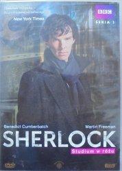 Benedict Cumberbatch. BBC • Sherlock. Studium w różu sezon 1/1 • DVD