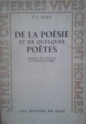 Thomas Stearns Eliot • De La Poesie Et De Quelques Poetes