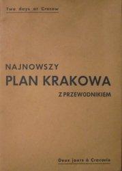 Najnowszy plan Krakowa z przewodnikiem • Two days at Cracow [1946]