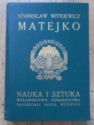 Stanisław Witkiewicz • Matejko [1912]
