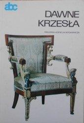 Janina Gostwicka • Dawne krzesła