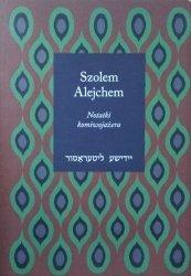 Szolem Alejchem • Notatki komiwojażera