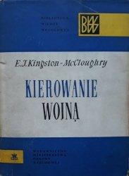 E.J. Kingston McCloughry • Kierowanie wojną