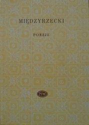 Artur Międzyrzecki • Poezje [Biblioteka Poetów]