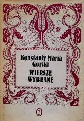 Konstanty, Maria Górski • Wiersze wybrane