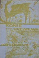 Jan Leszcza • Konie drewniane [OPiM]