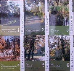 Seria 'Parki Krakowa' • Komplet wydawniczy 16 tomów