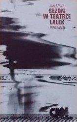 Jan Sowa • Sezon w teatrze lalek i inne eseje