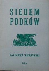 Kazimierz Wierzyński • Siedem podków