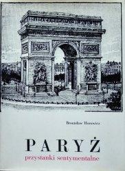 Bronisław Horowicz • Paryż - przystanki sentymentalne