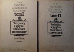 Kurs edynburski językoznawstwa stosowanego [komplet] • Rozprawy z językoznawstwa stosowanego. Techniki w językoznawstwie stosowanym