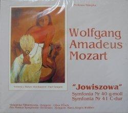 Wolfgang Amadeus Mozart • Jowiszowa. Symfonia Nr 40 g-moll. Symfonia Nr 41 C-dur • CD