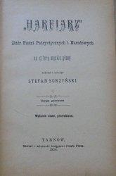 Stefan Surzyński • 'Harfiarz'. Zbiór pieśni patriotycznych i narodowych na cztery męskie głosy
