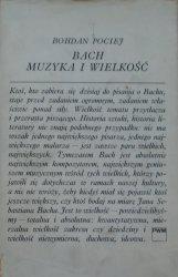 Bohdan Pociej • Bach. Muzyka i wielkość