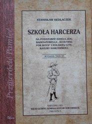 Stanislaw Sedlaczek • Szkoła harcerza