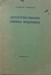 Stanisław Tomkowicz • Artystyczne piękności Kościoła Marjackiego