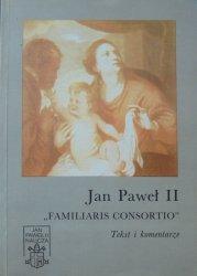 Jan Paweł II • Familiaris Consortio. Tekst i komentarze [dedykacja Tadeusza Stycznia dla Josefa Ratzingera]