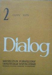 Dialog 2/1975 • [Sylvia Plath, Brian Friel, Sławomir Mrożek, Gombrowicz, Maria Janion]