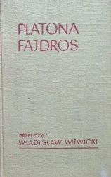 Władysław Witwicki • Platona Fajdros