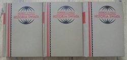 Herbert G. Wells • Historja świata [komplet] [introligator I.Derczański, Wilno]