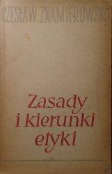 Czesław Znamierowski • Zasady i kierunki etyki