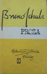 Bruno Schulz • Proza [Sklepy cynamonowe, Sanatorium pod Klepsydrą] [Zofia Darowska]