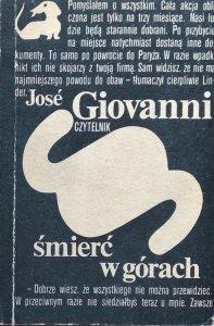 Jose Giovanni • Śmierć w górach