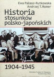 Ewa Pałasz-Rutkowska • Historia stosunków polsko-japońskich 1904-1945
