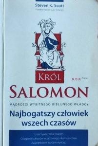 Steven K. Scott • Król Salomon. Najbogatszy człowiek wszech czasów