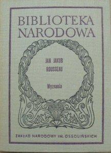 Jan Jakub Rousseau • Wyznania
