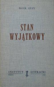 Piotr Guzy • Stan wyjątkowy [ekslibris M.K.Pawlikowski]