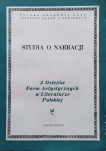 red. Jan Błoński, Janusz Sławiński • Studia o narracji