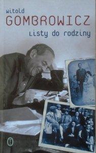 Witold Gombrowicz • Listy do rodziny